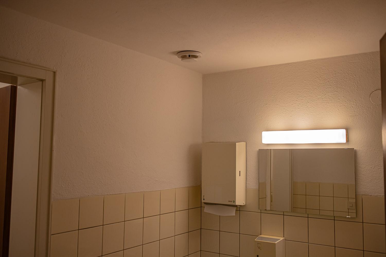 Heller WC Bereich